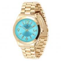 Relógio Feminino Champion Analógico CN25225F - Dourado - Único - Champion
