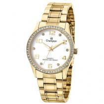 Relógio Feminino Champion Analógico CN29089W - Dourado com Brinco e Colar