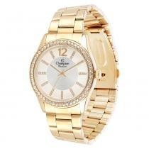 Relógio Feminino Champion Analógico CN29267H - Dourado - Único - Champion