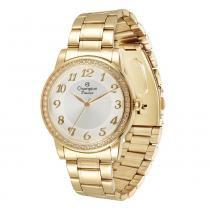 Relógio Feminino Champion Analógico CN29463H - Dourado - Único -