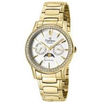 Relógio Feminino Champion CH38440H - Analógico Resistente à Água Calendário
