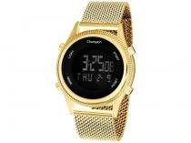 Relógio Feminino Champion Digital Esportivo - CH48082H Dourada