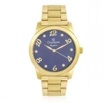 357becbae2f Relógio Feminino Champion Elegance Analógico CN26108A Dourado -