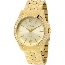 ceecf671de4 Relógio Feminino Condor Dourado CO2035KOU 4D -