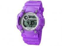 Relógio Feminino Cosmos Digital Esportivo - OS 41388 L Roxo