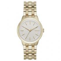 Relógio Feminino DKNY NY2382/4KN - Analógico Resistente à Água