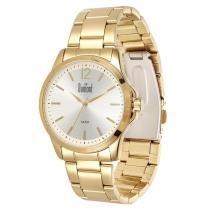 Relógio Feminino Dumont Analógico DU2535LSO/4K - Dourado - Único -
