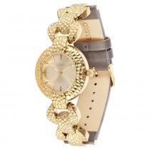 Relógio Feminino Euro Analógico EU2035LSB/2C - Cinza - Único -