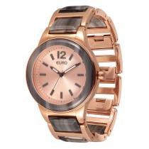 Relógio Feminino Euro Analógico EU2035LWU/4T - Rose - Único -