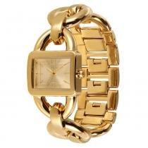 Relógio Feminino Euro Analógico EU2035SV/4X - Dourado - Único -