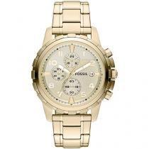 Relógio Feminino Fossil Analógico - Resistente à Água Cronógrafo Dean FS4867/4XN
