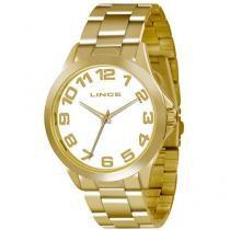 Relógio Feminino Lince LRGJ039L - Analógico Resistente à Água