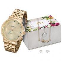 Relógio Feminino Mondaine 99020LPMKDE1K1 - Analógico Resistente à Água