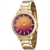 Relógio Feminino Mondaine Analógico - Resistente à Água 53533LPMVDE1