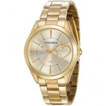Relógio Feminino Mondaine Analógico - Resistente à Água 53690LPMGDE1