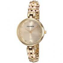 Relógio Feminino Mondaine Analógico    - Resistente à Água 76595LPMVDM2