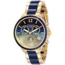 Relógio Feminino Mondaine Analógico - Resistente à Água Cronógrafo 53532LPMVDE2