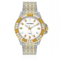 4c6e18a68d0 Relógio Feminino Mondaine Moda Analógico 94702LPMVBA1 Aço Misto -