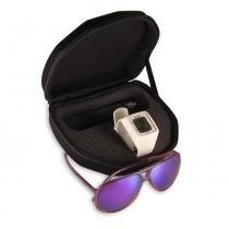 Relógio Feminino Mormaii Digital M0982/8B + Óculos Exclusivo - Branco - Único -