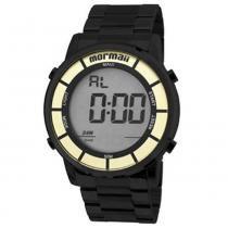 Relógio feminino mormaii digital maui - mobj3463db/4p -