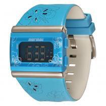 Relógio Feminino Mormaii Digital Y9443A/8Z - Azul - Único -