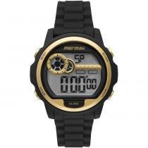 Relógio feminino mormaii luau mo1462a/8d preto -