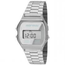 Relógio feminino mormaii maui mojh02aa/3c prata -