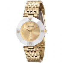 Relógio Feminino Seculus Analógico - Resistente à Água 23529LPSVDQ3K1