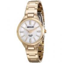 Relógio Feminino Seculus Analógico - Resistente à Água 23587LPSVDA1