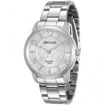 Relógio Feminino Seculus Analógico - Resistente à Água 28600L0SGNA1