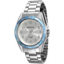 Relógio Feminino Seculus Analógico - Resistente à Água 28732L0SGNA1