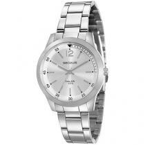 Relógio Feminino Seculus Analógico - Resistente a Água Long Life 20486L0SVNA2
