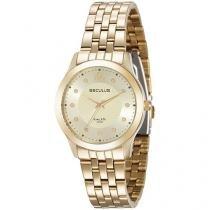 Relógio Feminino Seculus Analógico - Resistente a Água Long Life 20489LPSVDA1