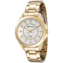 Relógio Feminino Seculus Analógico - Resistente a Água Long Life 28774LPSVDA1