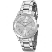 Relógio Feminino Seculus Analógico - Resistente à Água Long Life 77004L0SVNA2
