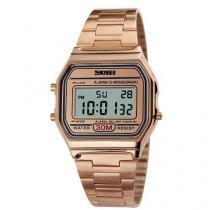 Relógio Feminino Skmei Digital 1123 Rosê -