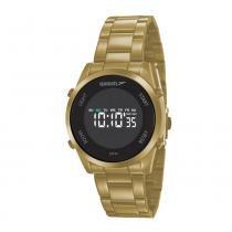 b84fca3de99 Relógio feminino Speedo Digital 24860LPEVDS1 - Dourado -