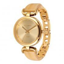 Relógio Feminino Technos Analógico 2035LTB/4D - Dourado - Único - Technos