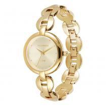 Relógio Feminino Technos Analógico 2035LVG/4X - Dourado - Único - Technos