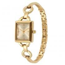 Relógio Feminino Technos Analógico 2035LXK/4X - Dourado - Único - Technos