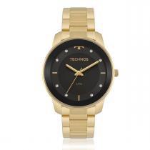 e674155ddbe Relógio Feminino Technos Analógico 2036MKF 5P Dourado -