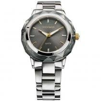 Relógio Feminino Technos Crystal 2035MCL/1C 38mm Aço Prata - Technos
