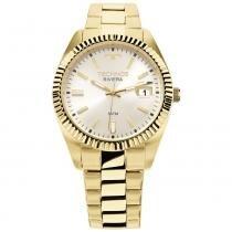 Relógio Feminino Technos Riviera 2115KTR/4K 36mm Aço Dourado - Technos