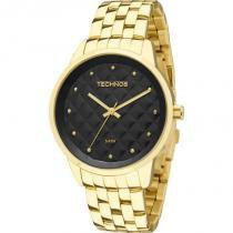 Relógio Feminino Technos Trend 2035LWM/4P 39mm Aço Dourado -
