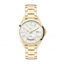 92a065244e9 Relógio Feminino Technos Trend 2350AE 4B 37mm Aço Dourado -