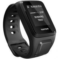 Relógio Fitness com GPS e Música TomTom Preto - Spark Small MoS Resistente à Água