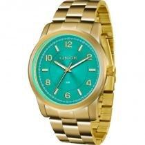 a1c2b830cbf Relógio Lince Feminino Analógico Dourado LRGJ066LA2KX -