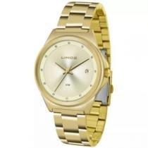 7c436665f894c Relógio Lince Feminino Dourado Lrg4567l C1kx -