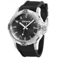 Relógio magnum ma34414t pulseira silicone preto - Magnum