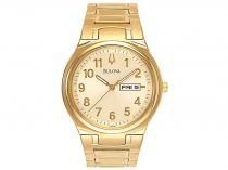 Relógio Masculino Bulova Analógico AH 20024 Q - Dourada